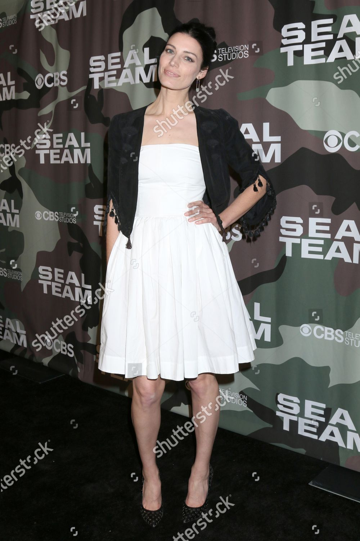 「'SEAL Team' TV show premiere, Arrivals, ArcLight Cinemas, Los Angeles, USA - 25 Feb 2020」のストックフォト