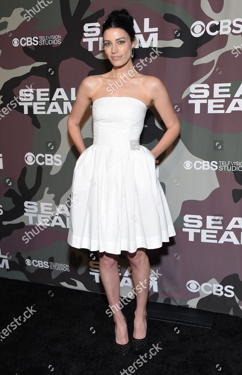 Stock photo of 'SEAL Team' TV show premiere, Arrivals, ArcLight Cinemas, Los Angeles, USA - 25 Feb 2020