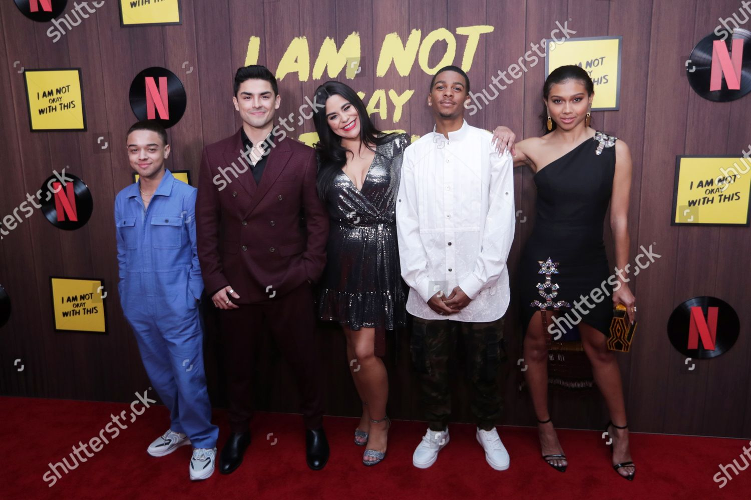 Stock photo of Netflix' I Am Not Okay With This premieres in Los Angeles, USA - 25 Feb 2020