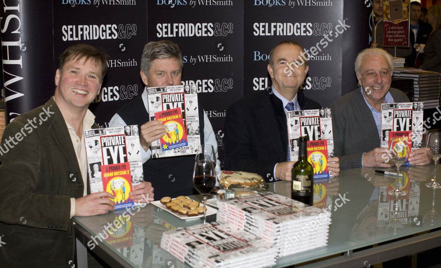 Stock photo of The launch of the 2009 Private Eye Annual, London, Britain - 04 Dec 2009