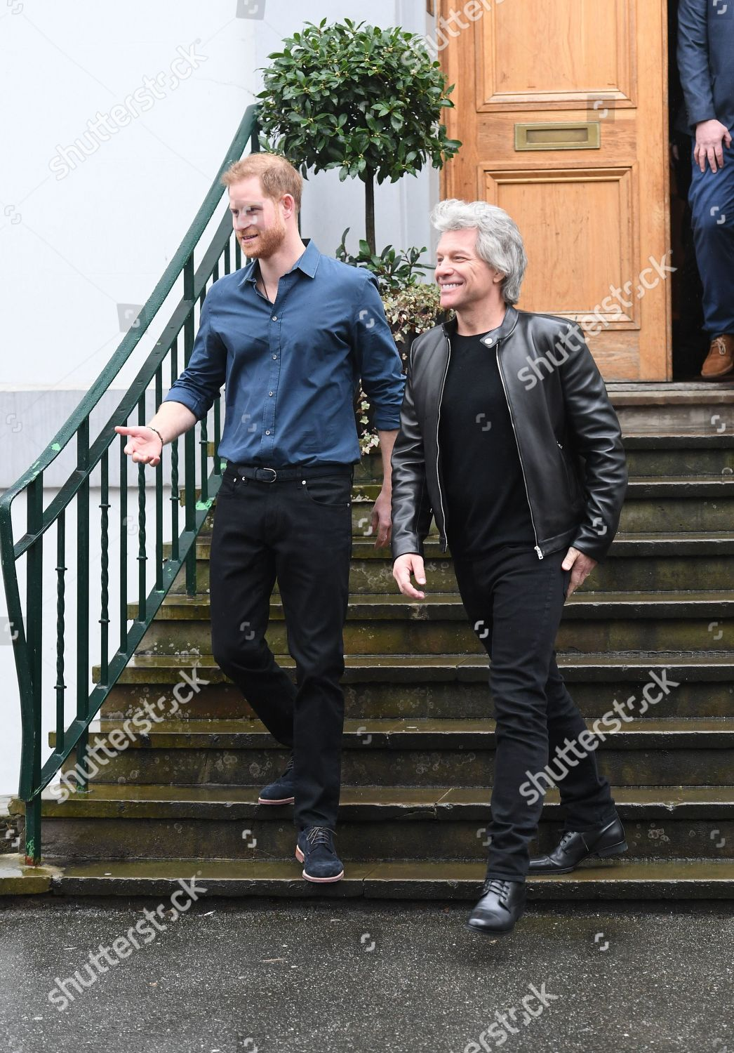 Stock photo of Prince Harry visit to Abbey Road Studios, London, UK - 28 Feb 2020