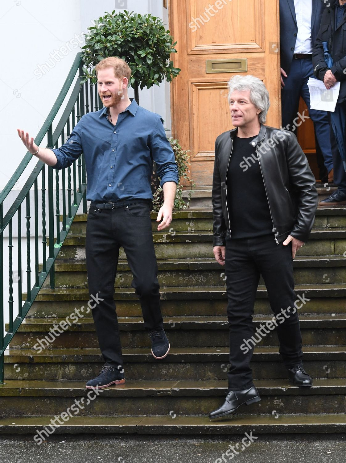 Photo libre de droits de Prince Harry visit to Abbey Road Studios, London, UK - 28 Feb 2020