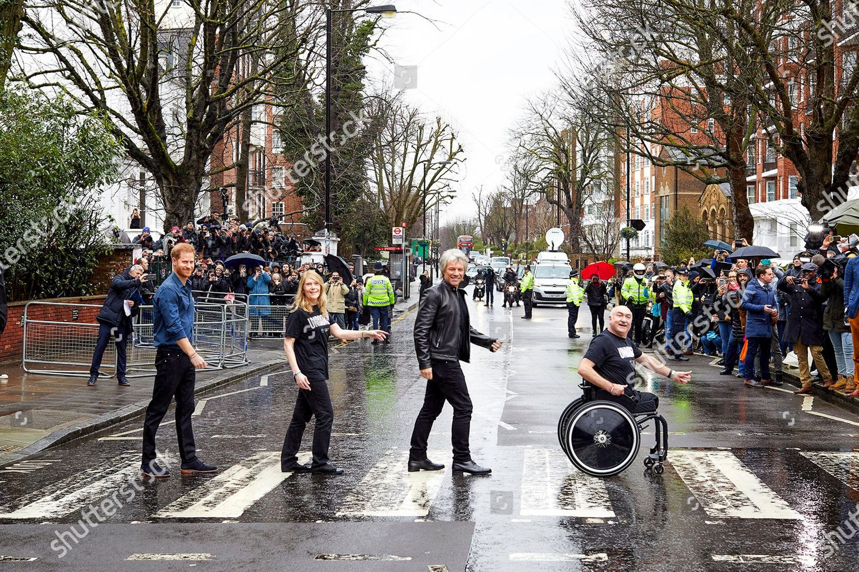 Stock photo of Prince Harry visit to Abbey Road Studios, London, UK - 28 Feb 2020