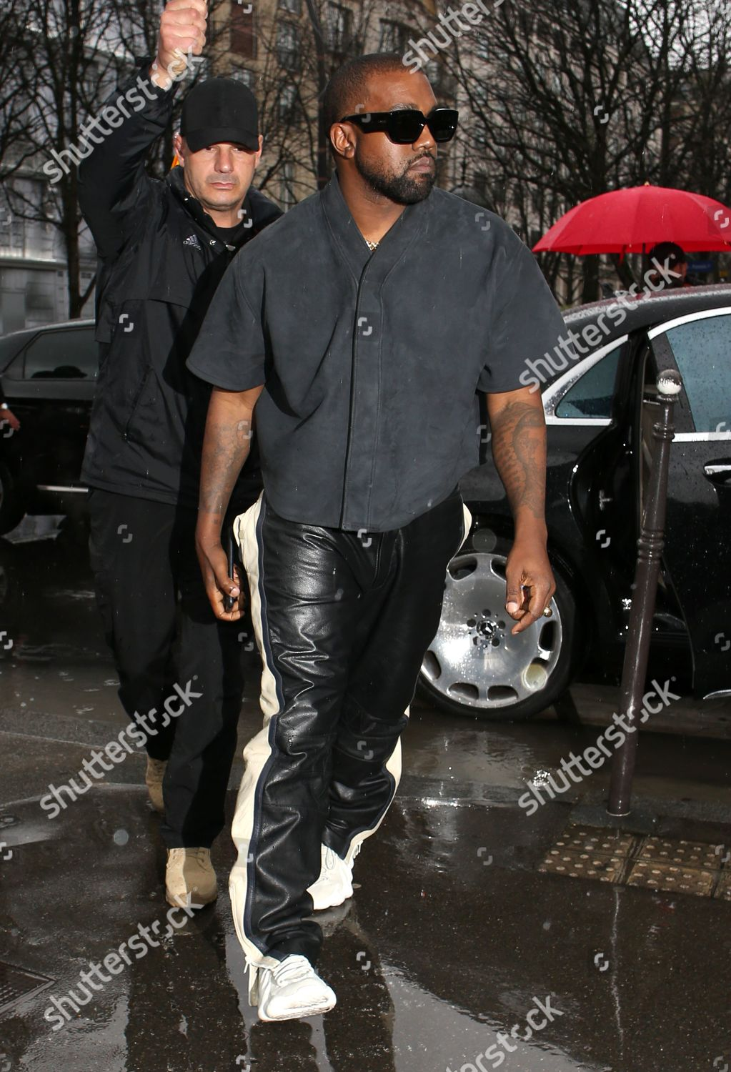Kanye West Going Lunch Editorial Stock Photo Stock Image Shutterstock