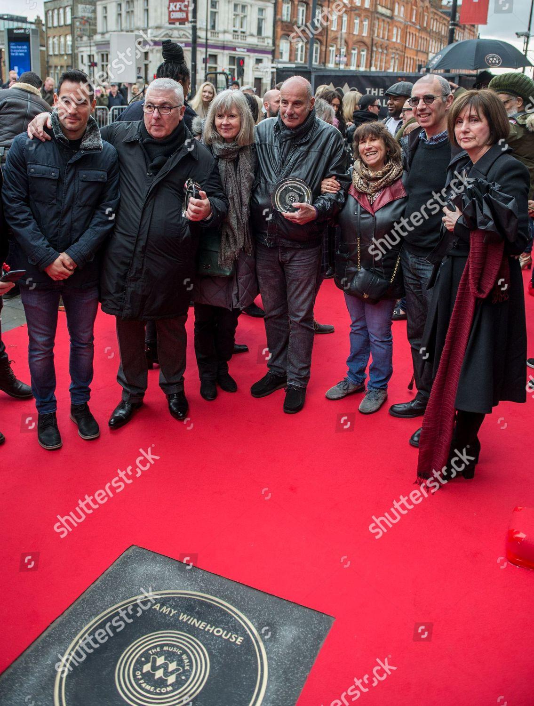 Stock photo of Unveiling of Amy Winehouse Stone on Camden Music Walk of Fame, London, UK - 04 Mar 2020