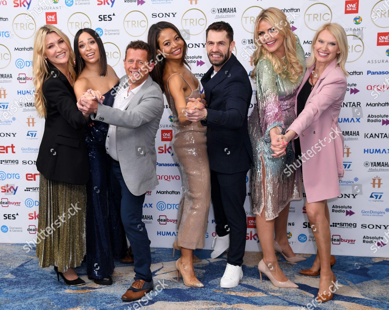 Stock photo of The TRIC Awards, Press Room, Grosvenor House, London, UK - 10 Mar 2020