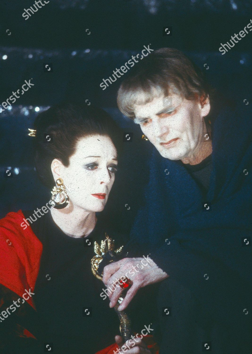 Stock photo of 'The Infernal Machine' Play performed at the Lyric Theatre, London, UK 1986 - 02 Apr 2020