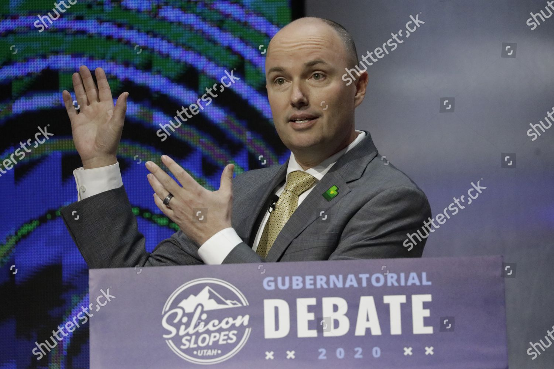 Stock photo of Election 2020 Governor, Salt Lake City, United States - 31 Jan 2020