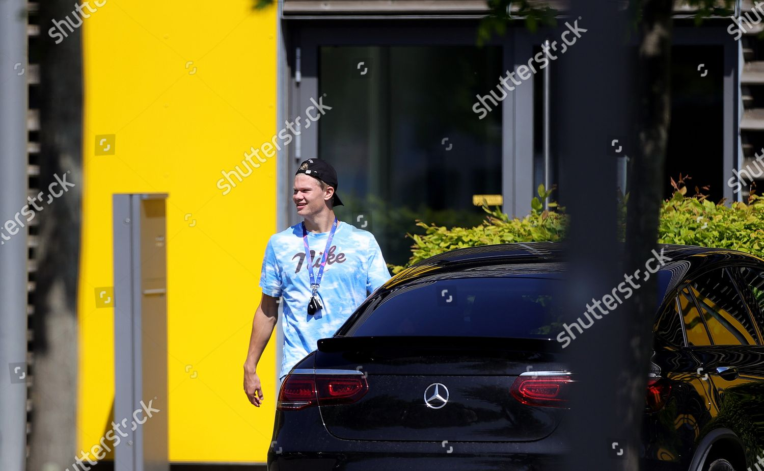 Borussia Dortmunds Erling Haaland Leaves After His Editorial Stock Photo Stock Image Shutterstock