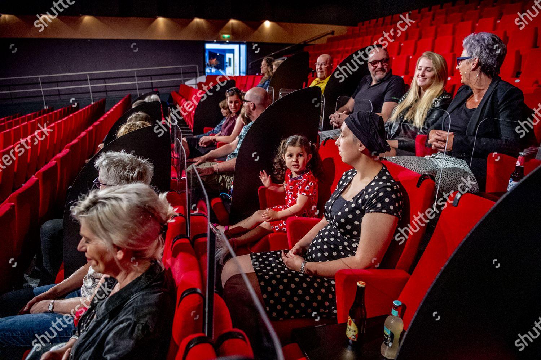 Theater strikingly adapted 15 meter society plexiglass Editorial ...