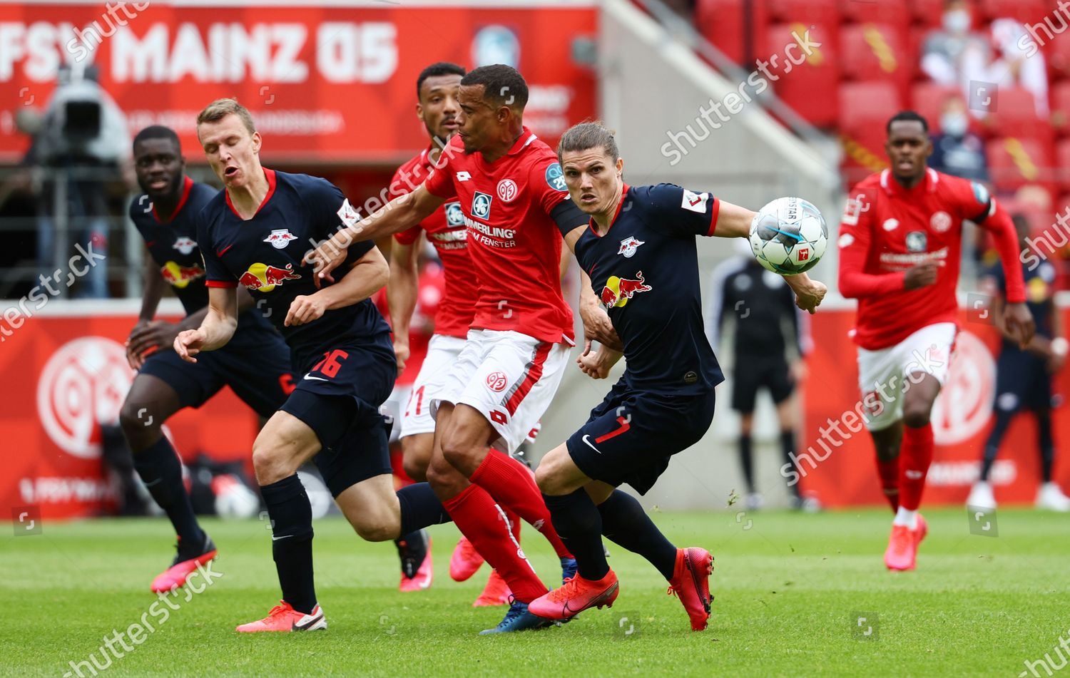 Rb Leipzigs Marcel Sabitzer R Action 1 Editorial Stock Photo Stock Image Shutterstock