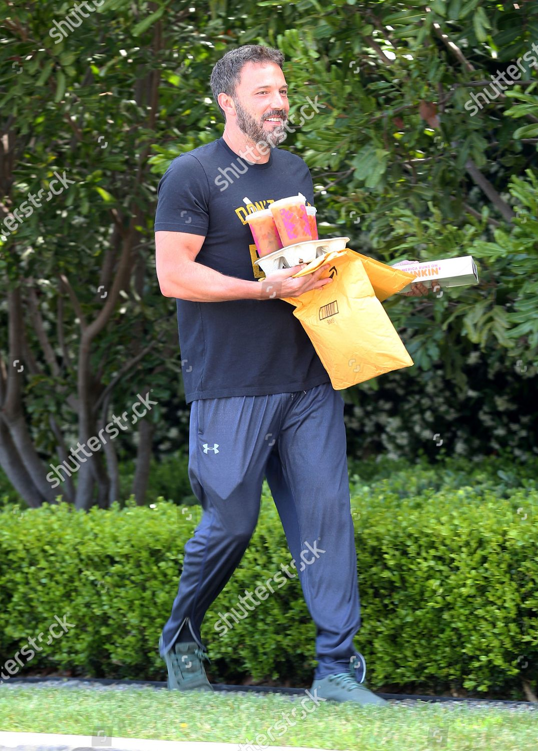 Foto de stock de Ben Affleck out and about, Los Angeles, USA - 30 May 2020