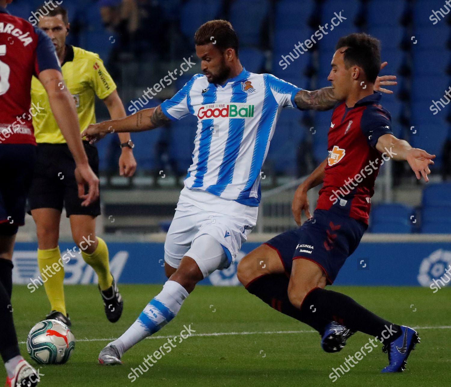 Real Sociedads Willian Jose L Action Against Editorial Stock Photo Stock Image Shutterstock