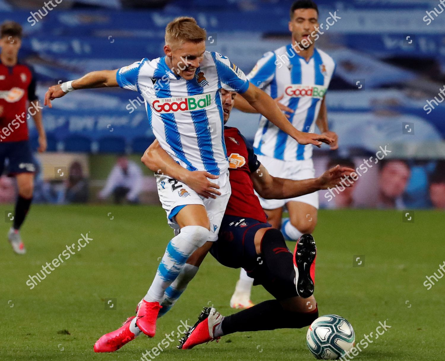 Real Martin Odegaard L Action Against Raul Editorial Stock Photo Stock Image Shutterstock