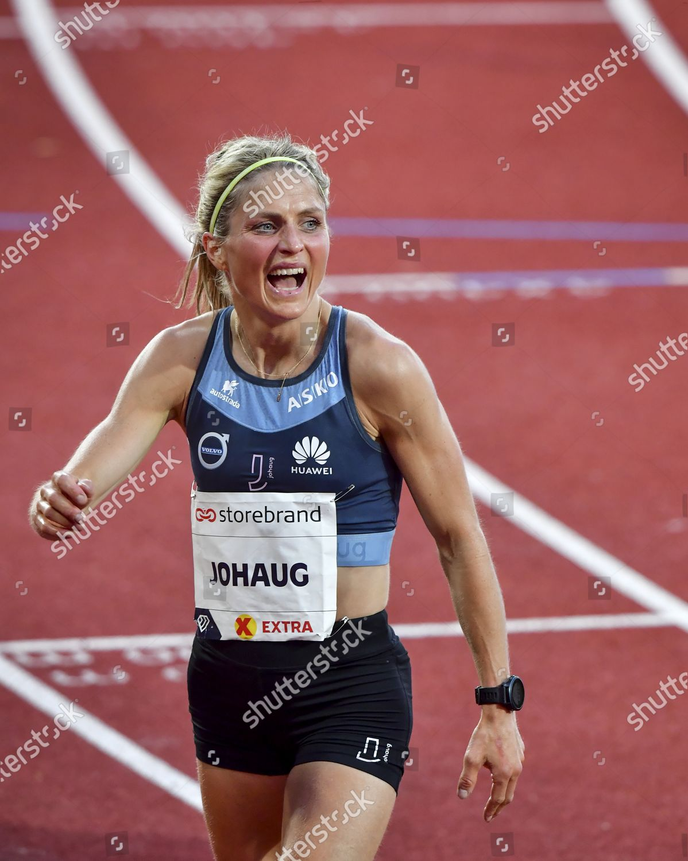 Crosscountry Skier Therese Johaug Nor Runs 10000m Editorial Stock Photo Stock Image Shutterstock