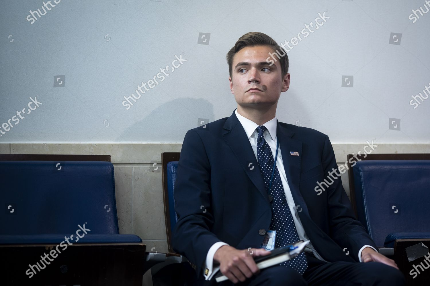 Chad Gilmartin Principal Assistant White House Press Editorial Stock Photo Stock Image Shutterstock