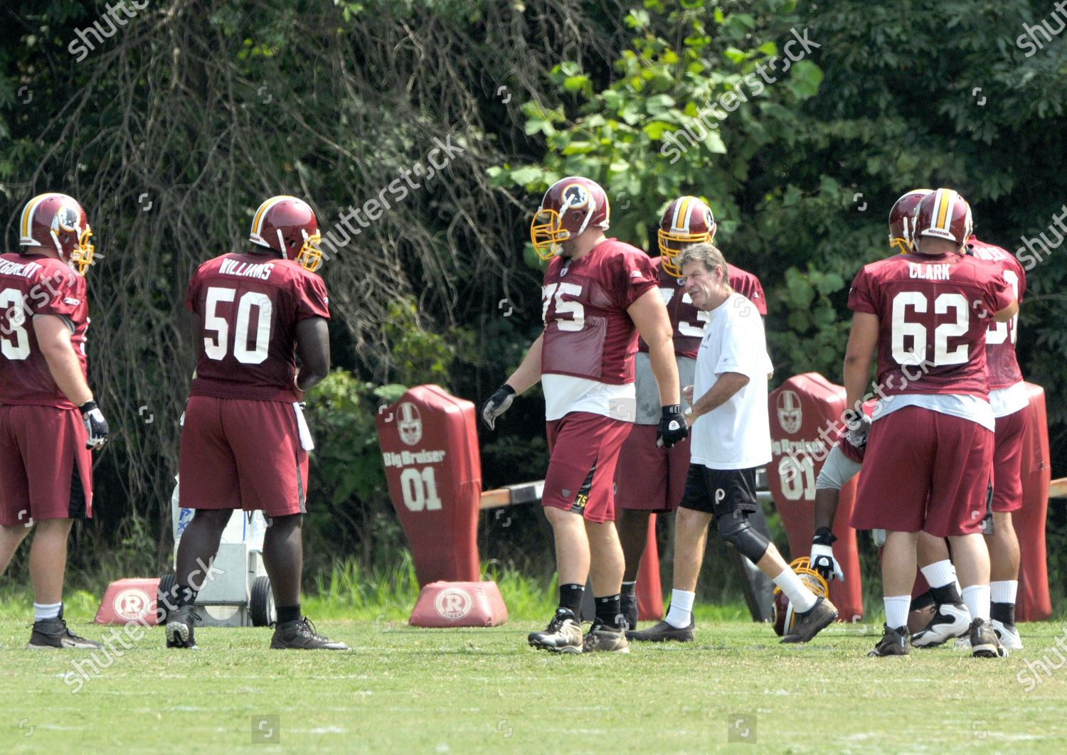 Stock photo of 2009 Washington Redskins Training Camp, Ashburn, Virginia, USA - 06 Aug 2009