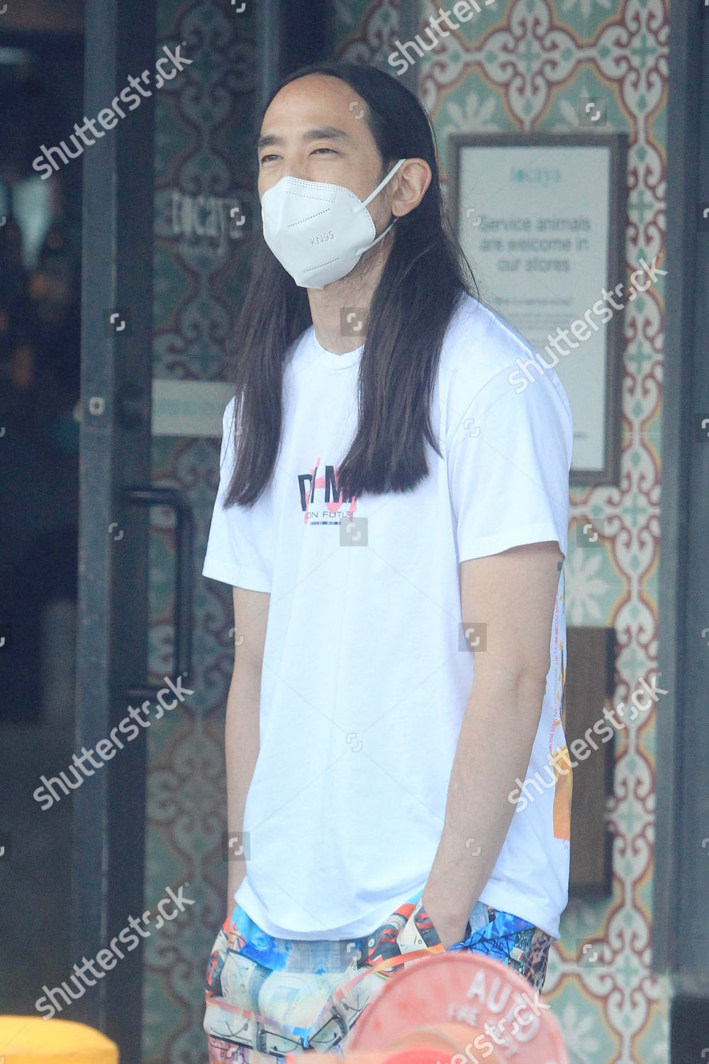 Steve Aoki out and about, Los Angeles, USA - 29 Jun 2020의 스톡 사진