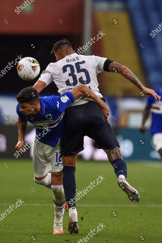 Fabio De Paoli Sampdoria Mitchell Dijks Bologna Editorial Stock Photo Stock Image Shutterstock