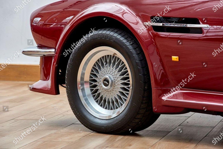 Classic Aston Martin Convertible Once Owned By Redaktionelles Stockfoto Stockbild Shutterstock