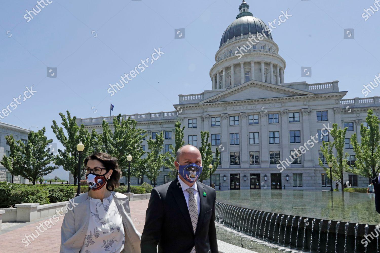Stock photo of Election 2020 Utah Governor, Salt Lake City, United States - 07 Jul 2020