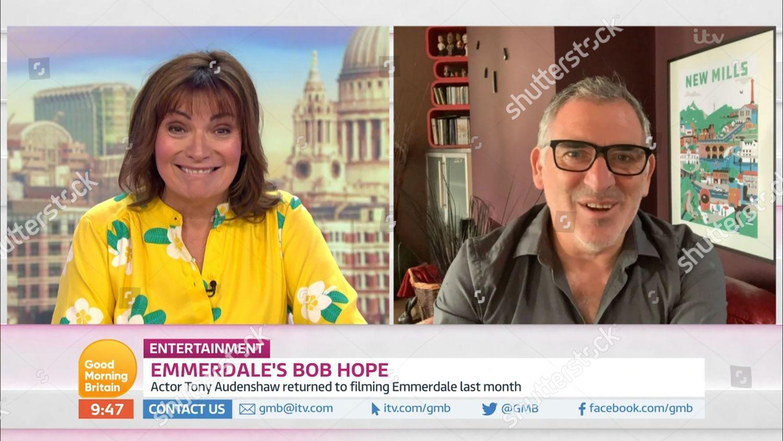 Stock photo of 'Good Morning Britain' TV Show, London, UK - 08 Jul 2020