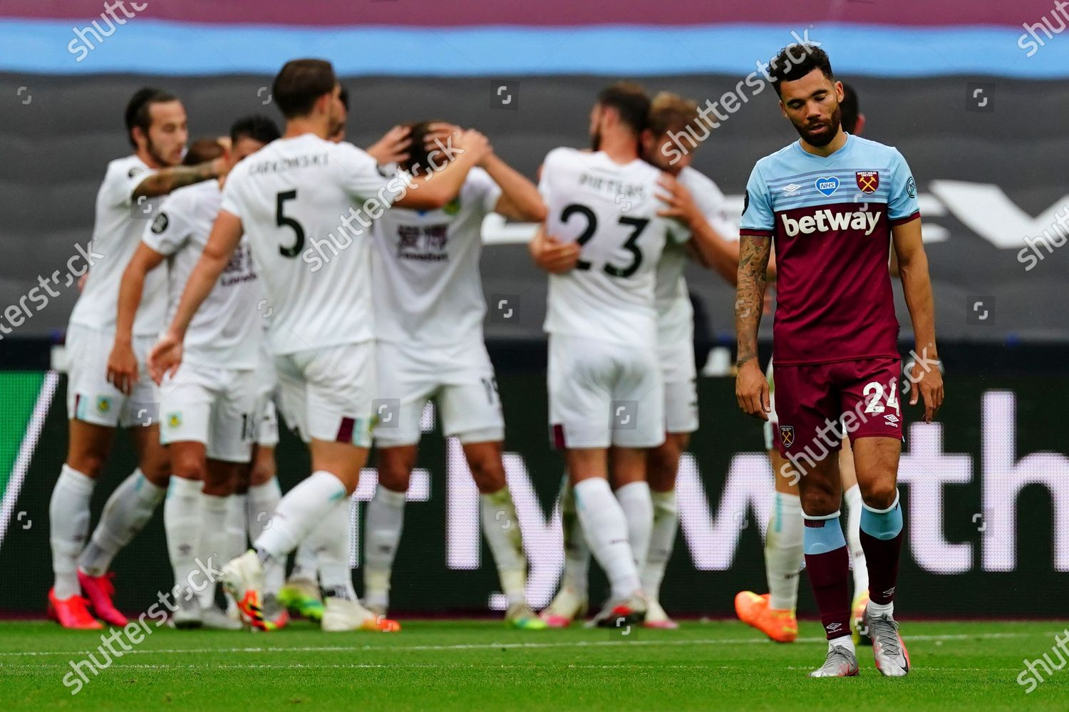 Ryan Fredericks West Ham Reacts After Opening Editorial Stock Photo Stock Image Shutterstock