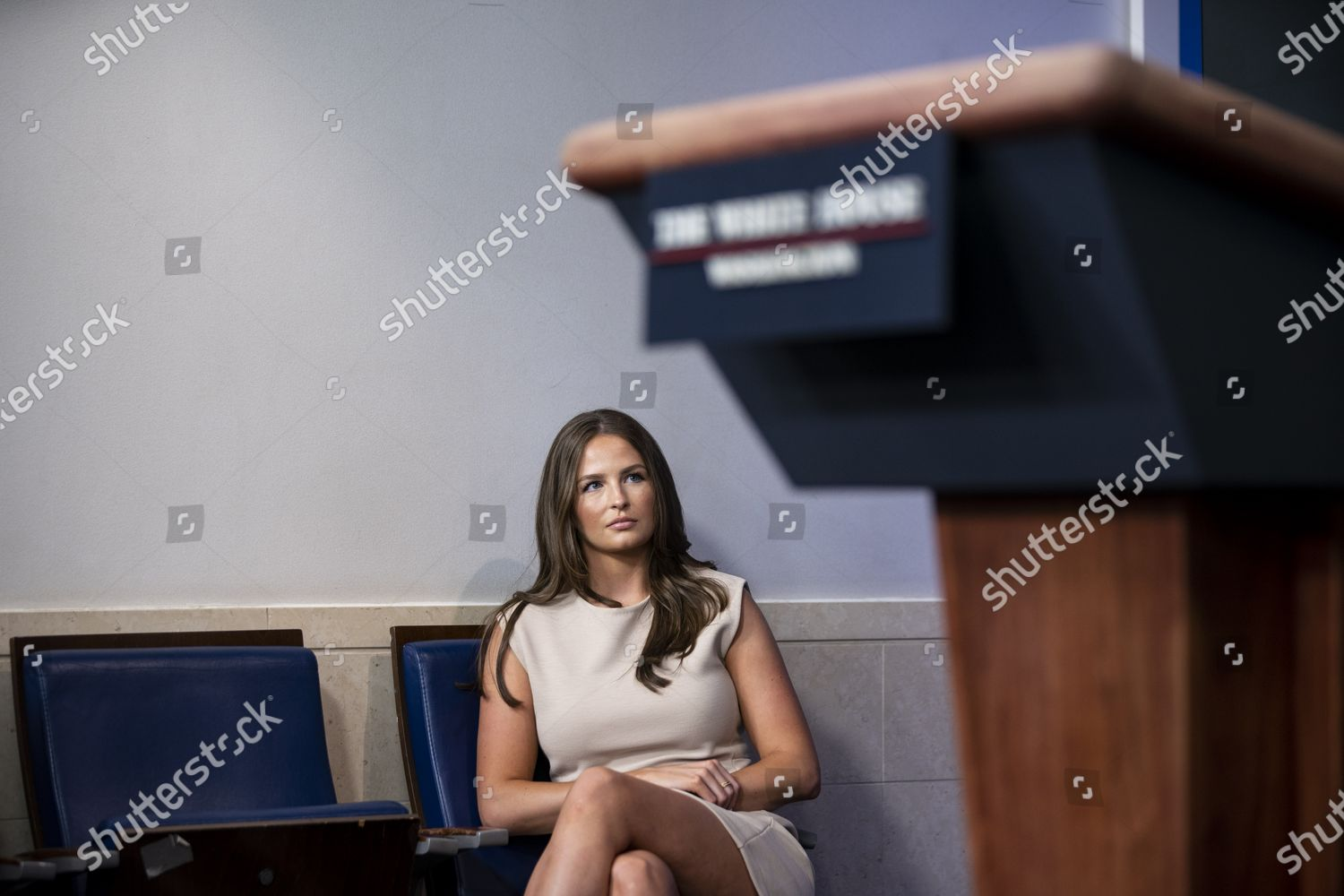 Margo Martin White House Press Assistant Listens Editorial Stock Photo Stock Image Shutterstock