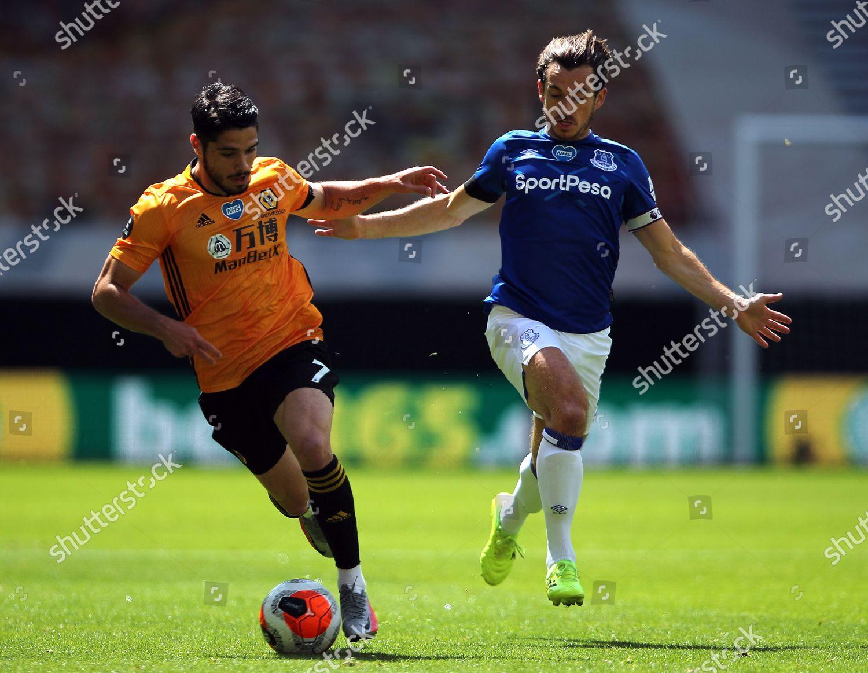 Photo libre de droits de Wolverhampton Wanderers vs Everton, United Kingdom - 12 Jul 2020