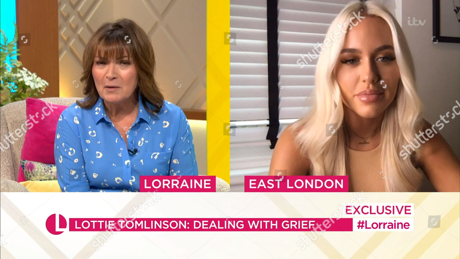 Photo libre de droits de 'Good Morning Britain' TV Show, London, UK - 13 Jul 2020