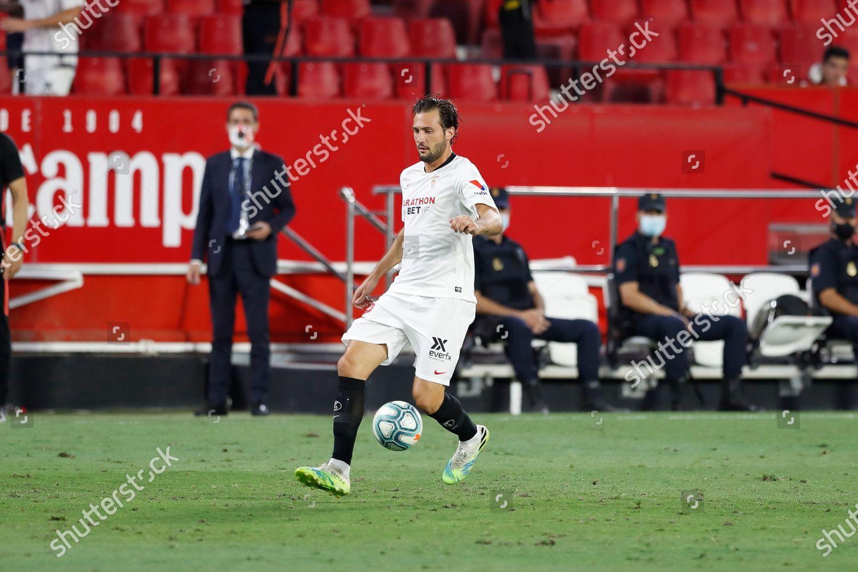 Franco Vazquez Sevilla Football Soccer Spanish La Editorial Stock Photo -  Stock Image