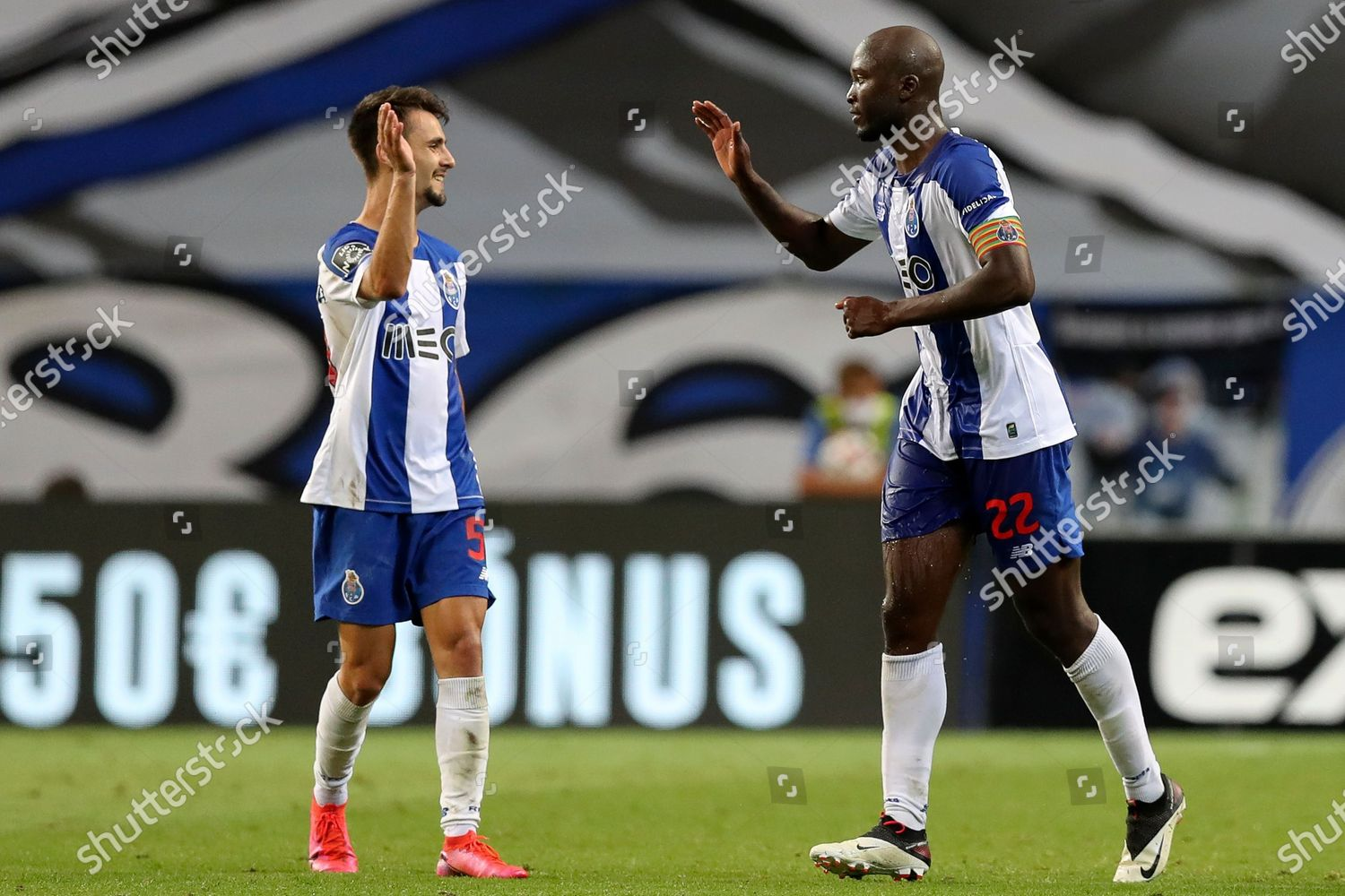 Fc Portos Danilo Pereira R Celebrates After Editorial Stock Photo Stock Image Shutterstock