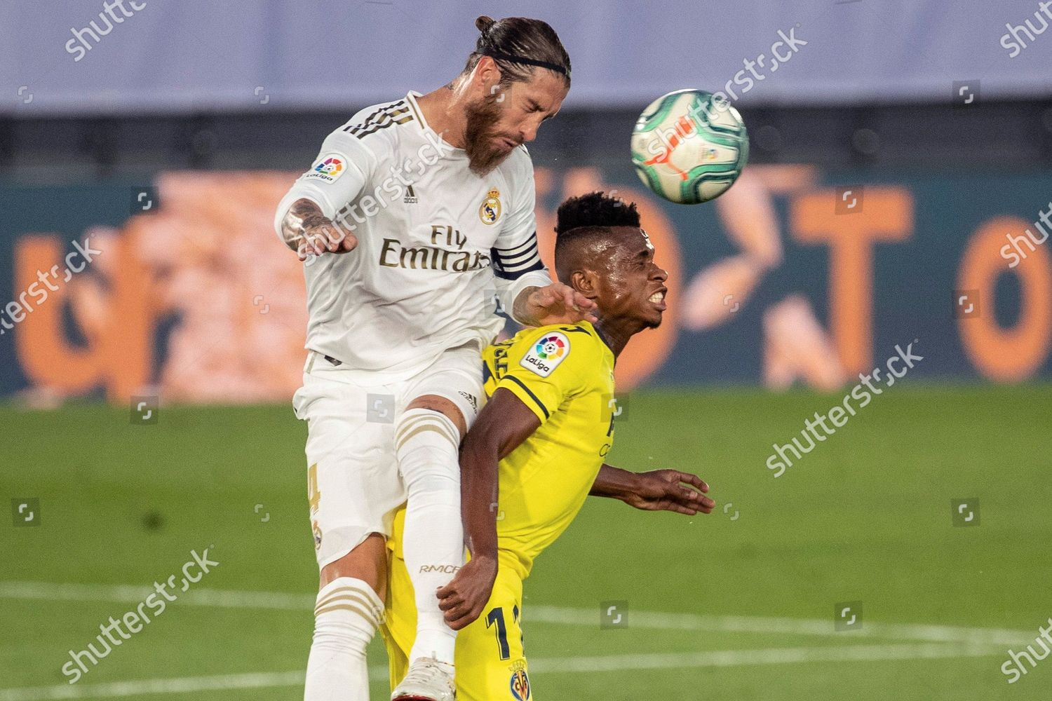 Real Madrids Sergio Ramos L Action Against Editorial Stock Photo Stock Image Shutterstock