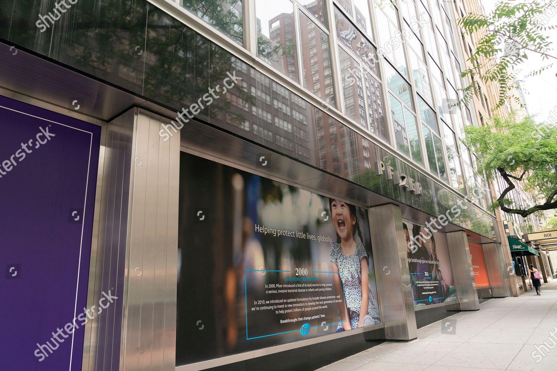 View Pfizer Worldwide Headquarters On 42nd Street Editorial Stock Photo Stock Image Shutterstock