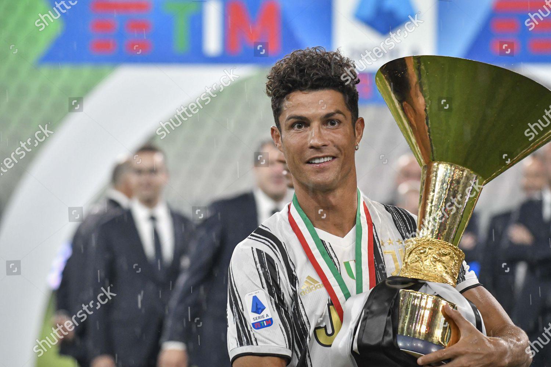 Cristiano Ronaldo Juventus Celebrates Trophy Editorial Stock Photo Stock Image Shutterstock