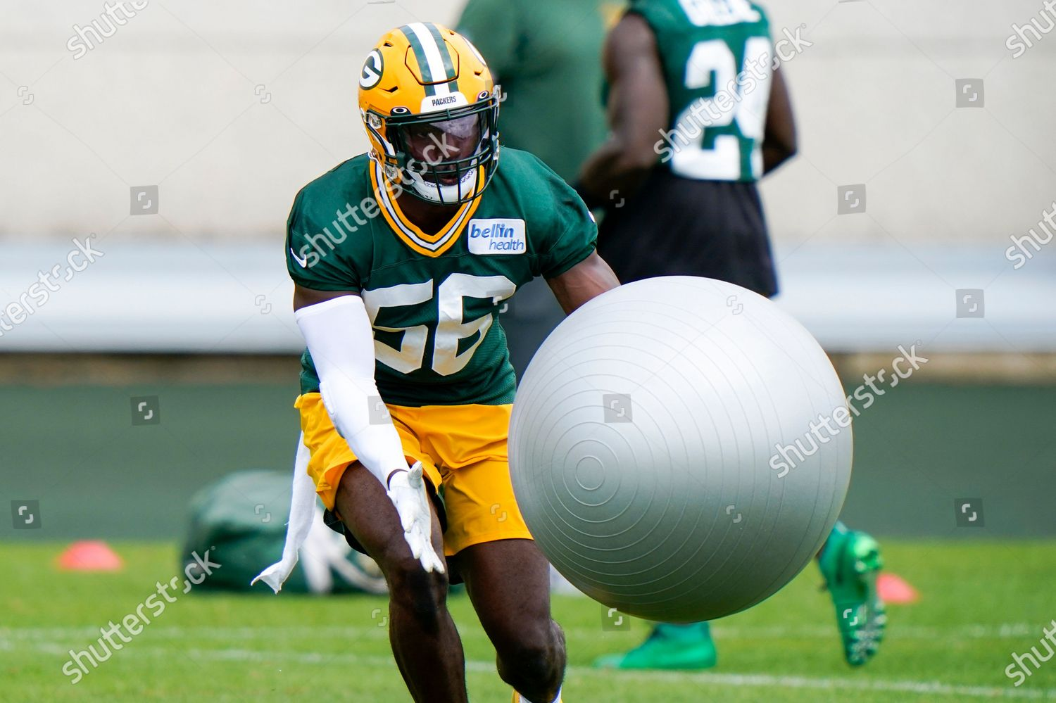 Green Bay Packers Randy Ramsey Runs Drill Editorial Stock Photo Stock Image Shutterstock