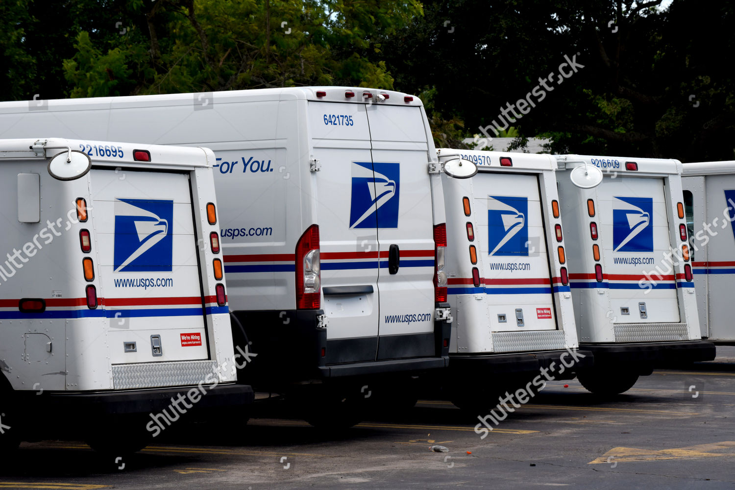 Is The Post Office Open On Christmas Eve 2020 Florida US Postal trucks seen parked Post Office Editorial Stock Photo