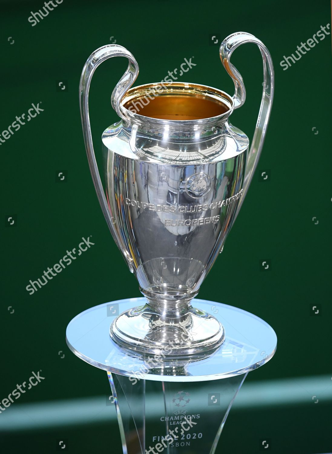 European Champion Clubs Cup seen prior UEFA Editorial Stock Photo ...