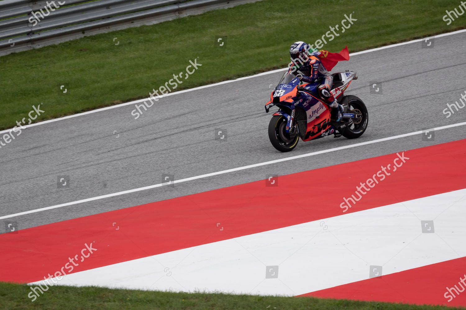 First Placed Portuguese Motogp Rider Miguel Oliveira Editorial Stock Photo Stock Image Shutterstock