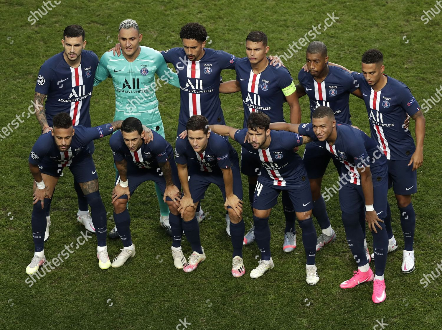 Team Psg Before Uefa Champions League Final Editorial Stock Photo Stock Image Shutterstock