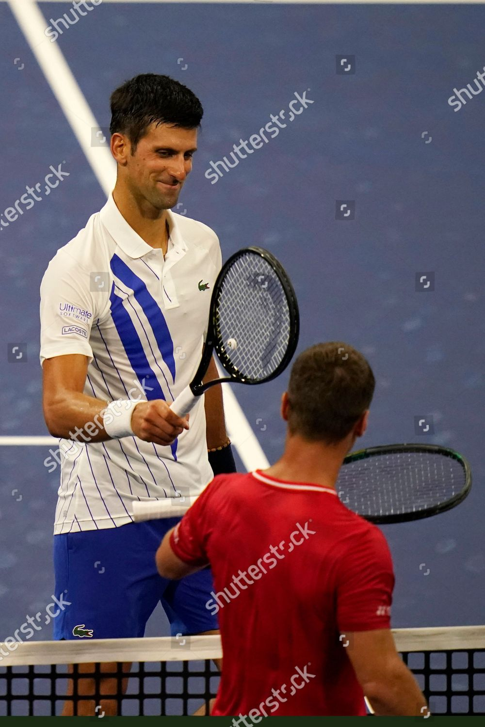 Novak Djokovic Serbia Top Bangs His Racket Editorial Stock Photo Stock Image Shutterstock