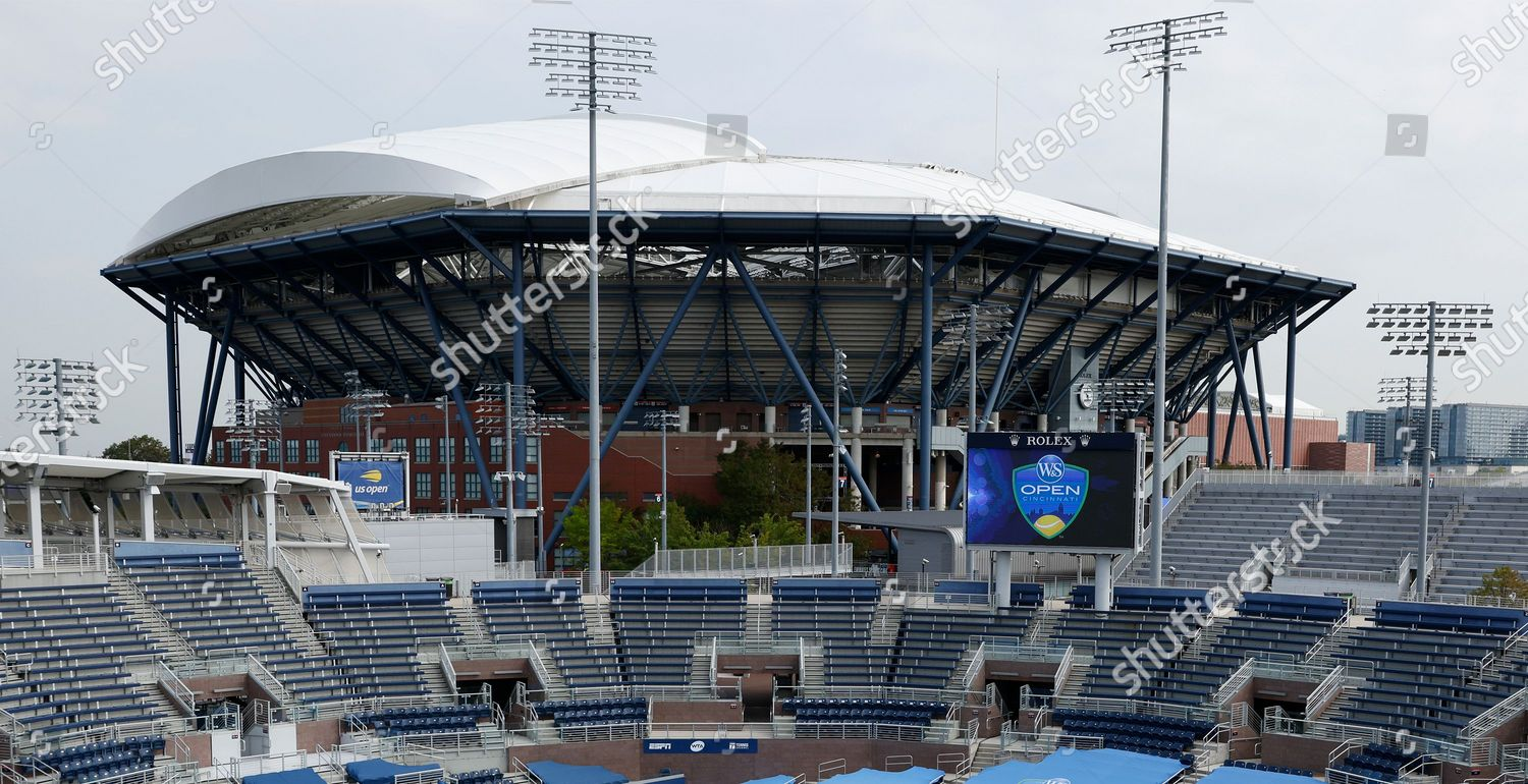 Stock photo of Western and Southern Open in USA, Flushing Meadows - 26 Aug 2020
