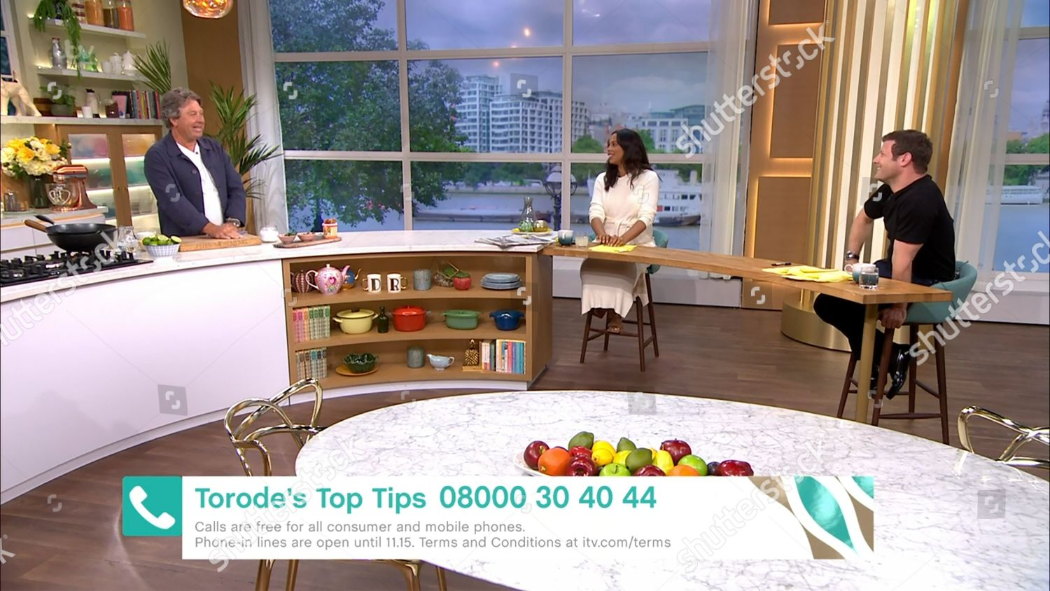 Stock photo of 'This Morning' TV show, London, UK - 28 Aug 2020