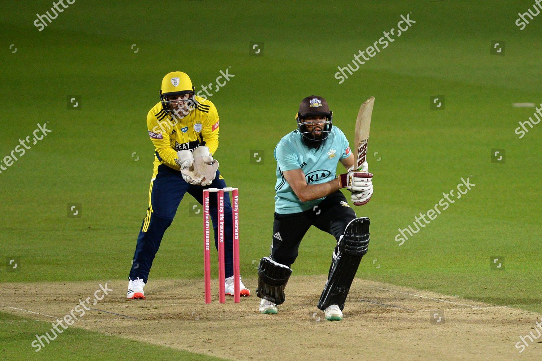 Hashim Amla Surrey Batting Editorial Stock Photo Stock Image Shutterstock