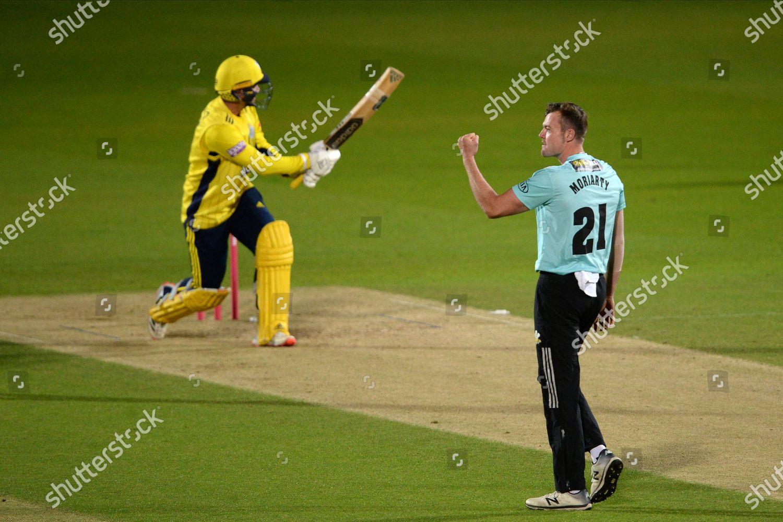 Dan Moriarty Surrey Celebrates Wicket Felix Organ Editorial Stock Photo Stock Image Shutterstock