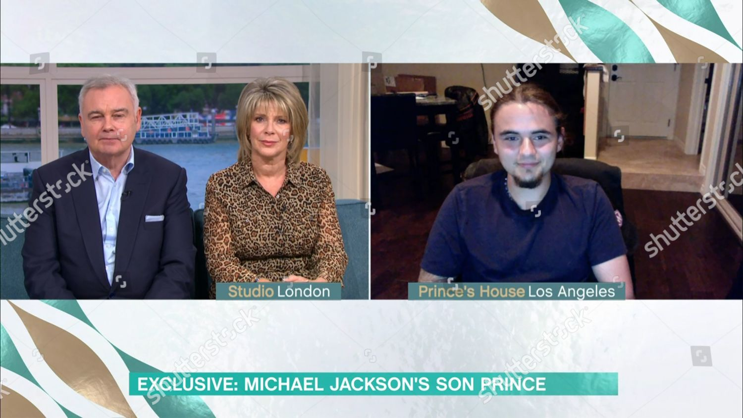Stock photo of 'This Morning' TV Show, London, UK - 04 Sep 2020