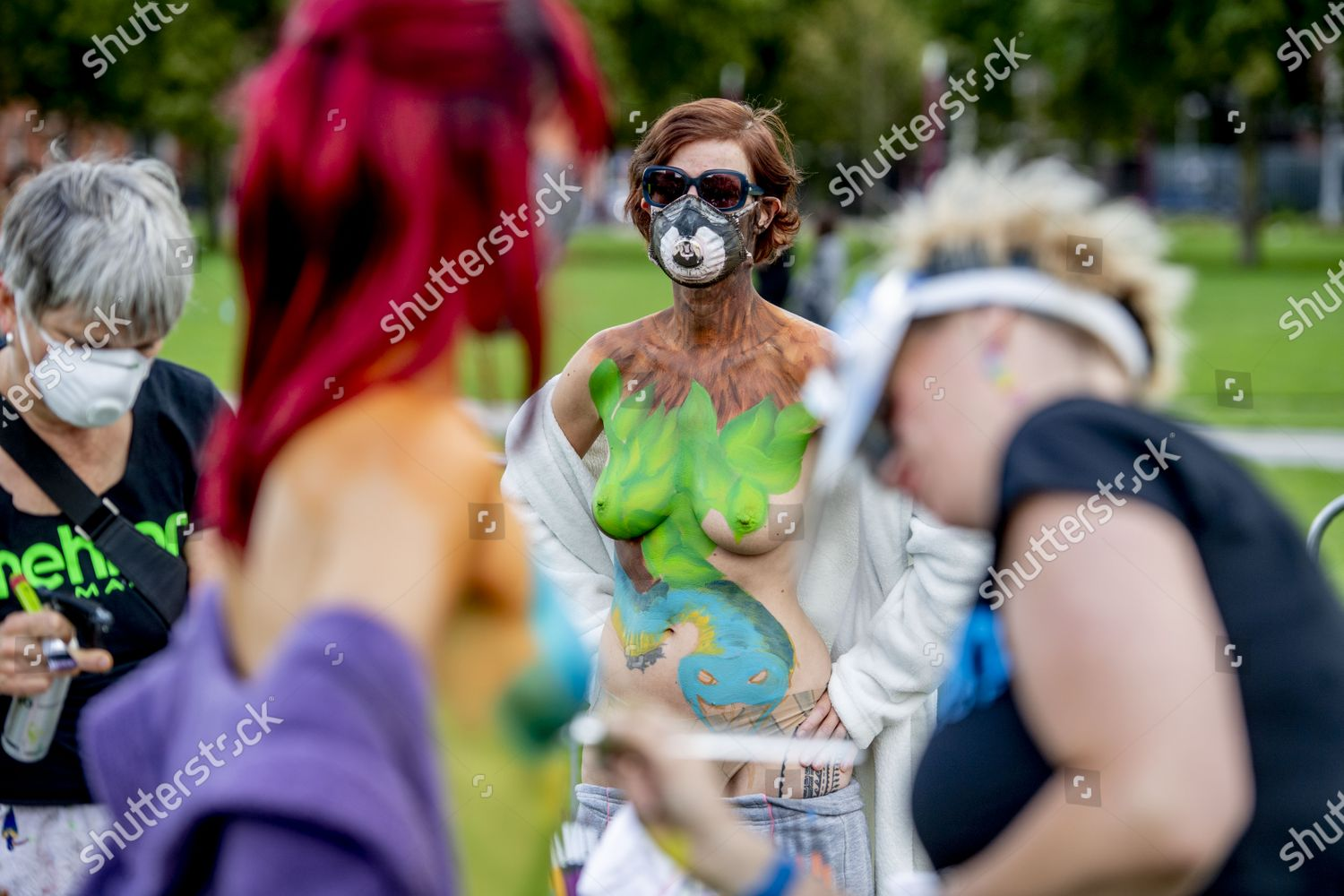 Amsterdam Body Art Foundation Organizing Amsterdam Bodypaint Editorial Stock Photo Stock Image Shutterstock