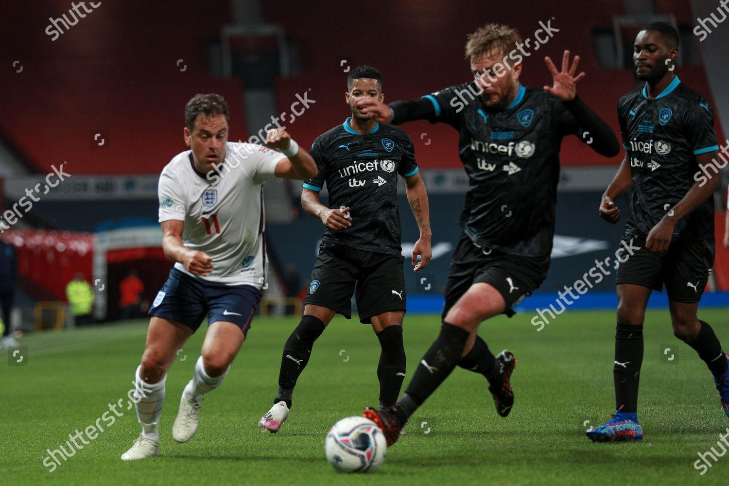 Stock photo of Soccer Aid, Manchester, UK - 06 Sep 2020