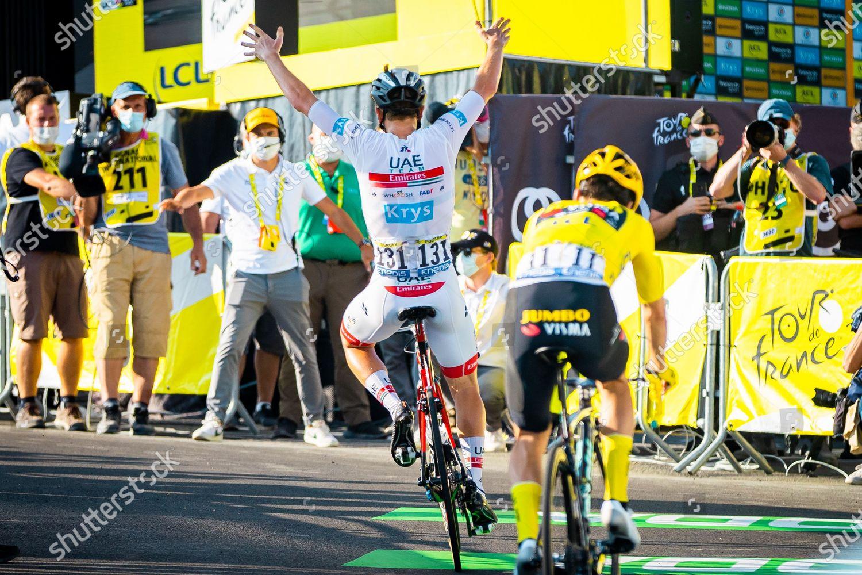 Tadej Pogacar Uae Team Emirates Beats Primoz Editorial Stock Photo Stock Image Shutterstock