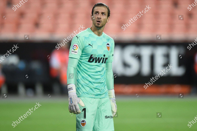 Jaume Domenech Valencia Cf Looks Ahead Editorial Stock Photo Stock Image Shutterstock